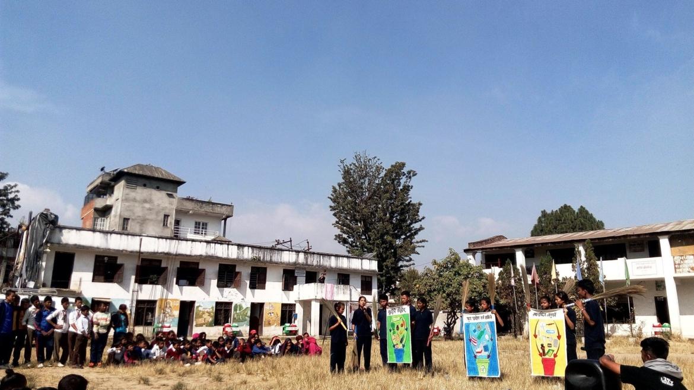 Zero Waste at Schools – Tika Vidhyashram