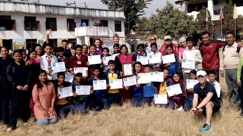 Zero waste at school program at Saraswathi School
