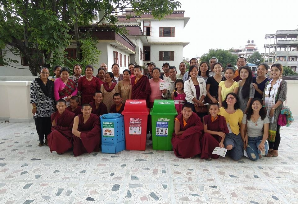 Community training on proper waste management